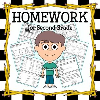 Homework for Second Grade Common Core