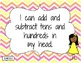"Common Core ""I Can"" Statements - Second Grade"