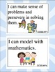 Common Core I Can Statements - Standards for Mathematical