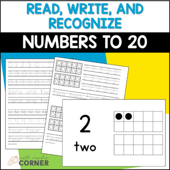 Common Core: I Can Write and Recognize Numbers to 20