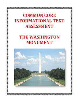 Common Core-Aligned Informational Passage and Assessment:
