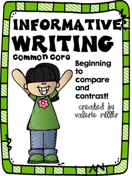 Common Core Informative (Expository) Writing -Beginning to