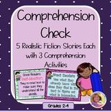 Comprehension Check: Common Core Aligned/Five Stories w/15