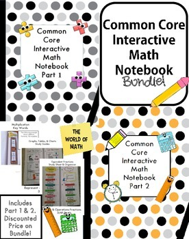 Common Core Interactive Math Notebook Bundle