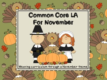 Common Core LA for November