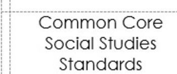Common Core Labels ELA, Math & Social Studies, Science Mod