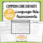 Language Arts Assessments for Third Grade {Common Core & Not Common Core}