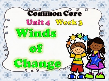 Wind of Change Week 3 Lesson Plans