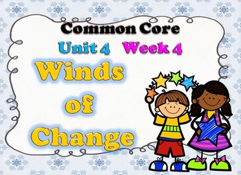Wind of Change Week 4 Lesson Plans