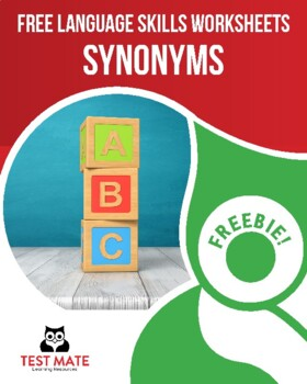 Common Core Language: Synonyms (FREE Practice Worksheets)