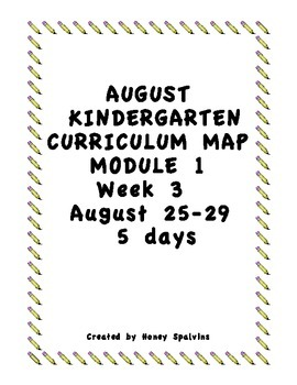 Common Core Lesson Plans Week 3