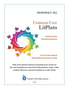 Common Core LitPlans: Fahrenheit 451 - Lesson Plans, Activ