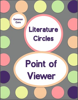 Common Core Literature Circles-Point of Viewer