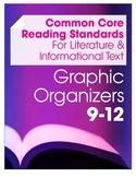 Common Core Reading Graphic Organizers Set (9-12 Grades)