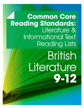 CCSS Literature & Informational Texts Readings Lists--Brit
