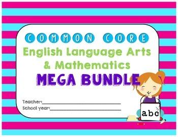 Common Core MEGA Planning Bundle for 2nd Grade