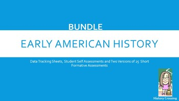 I Can Statements- Mastery BUNDLE!!! 8th Grade SS