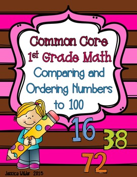 Common Core Math - 1st Grade - Comparing and Ordering Numb