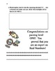 Common Core Math 8th grade review game/challenge