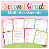 Second Grade Assessments Common Core Math