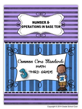 Common Core Math Assessments Grade 3 (Number & Operations