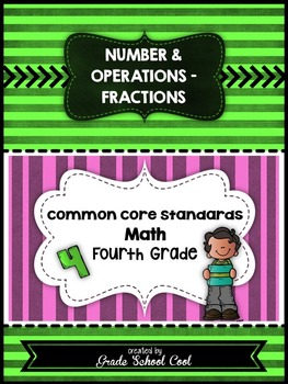 Common Core Math Assessments Grade 4 (Number & Operations