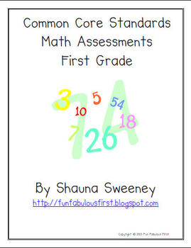 Common Core Math Assessments- Operations and Algebraic Thi