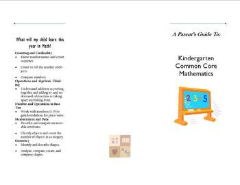 Common Core Math Brochure