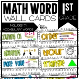 Common Core Math  Cards for 1st Grade