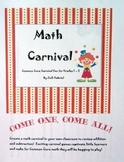 Common Core Math Carnival