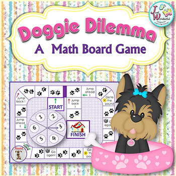 Shapes - Doggie Dilemma Game - Shape Recognition
