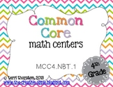 Common Core Math Centers: Place Value {NBT.1}
