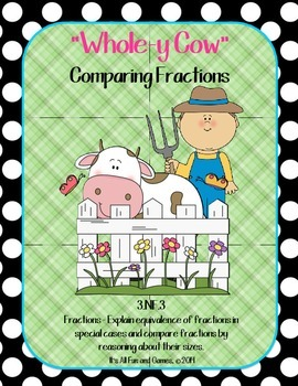 Compare Fractions - Common Core Math Game 3.NF.3