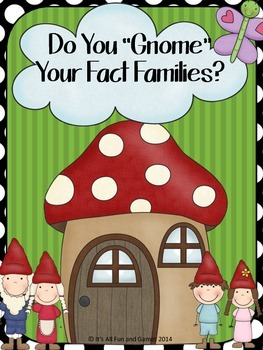 Multiply & Divide Fluently Math Game (Fact Families)
