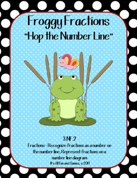 Fractions (Number Line) - Common Core Math Game 3.NF.2