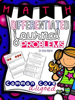 Common Core Math Journal Prompts ~ Addition & Subtraction!