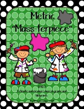 Mass Measurement (Metric) - Common Core Math Game 3.MD.2