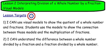 Common Core Math Mod2 Lesson 2 Division of Whole Number by