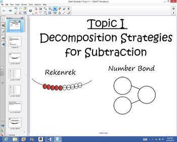 1st Grade Common Core Math Module 1 Topic I Lessons