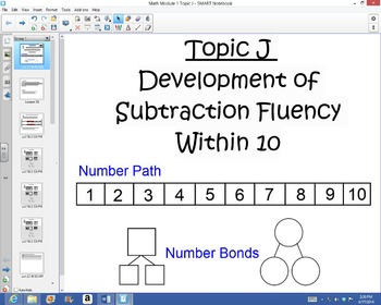 1st Grade Common Core Math Module 1 Topic J Lessons