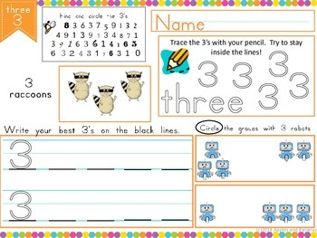 Common Core Math Numbers Sample - #3