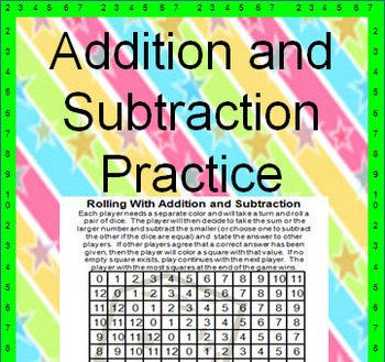 Addition and Subtraction - Fun Game