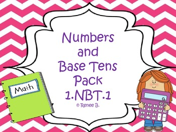 Common Core Math Pack Numbers and Base Ten 1.NBT.2