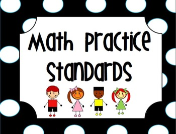 Common Core Math Practice Standard Posters