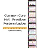 Common Core Math Practices Ladder or Posters