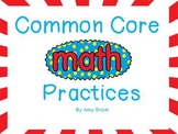 Common Core Math Practices Posters for K-2