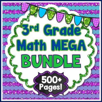 3rd Grade Math BUNDLE