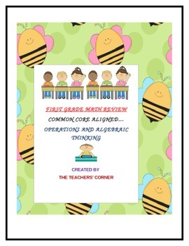 Common Core Math Review for Grade One: Operations and Alge