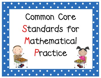 Common Core Math SMP posters -(Standards for Mathematical