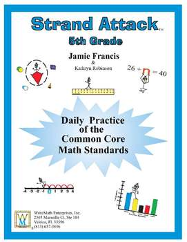 Printables Daily Math Practice Worksheets 5th grade common core math daily by kathryn robinson practice full year